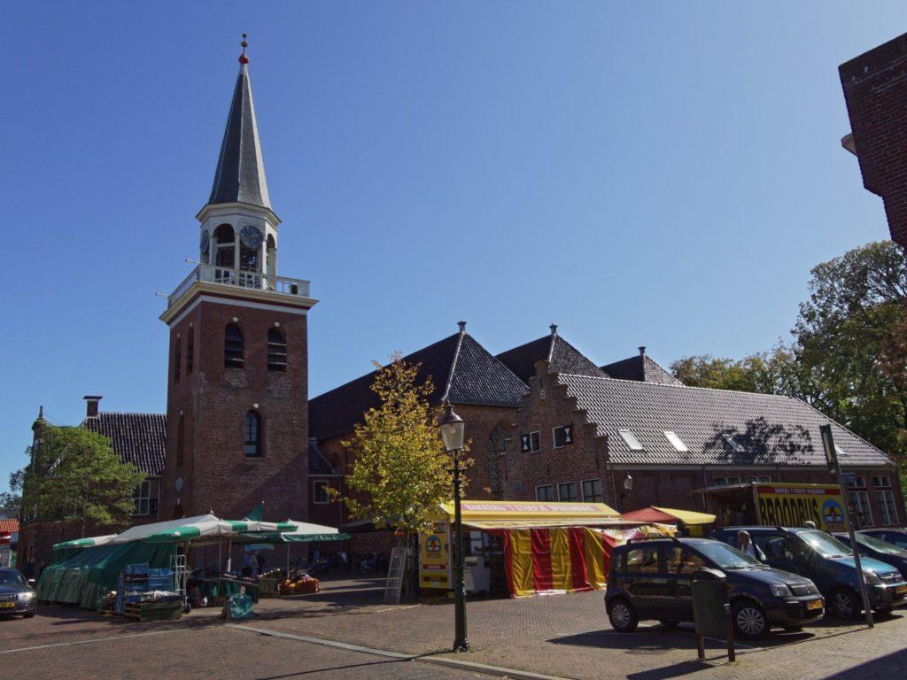 kerk en plein Appingedam